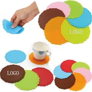 Silicone Non-slip Coaster Heat Resistant Cup Mat