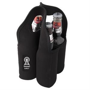 MALT GIVER NEOPRENE FOUR BEER BOTTLE CARRY BAG