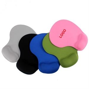Gel Neoprene Mouse Pad With Wrist Rest