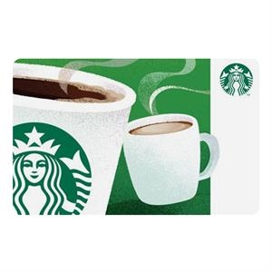 100 Dollar Starbucks Gift Card