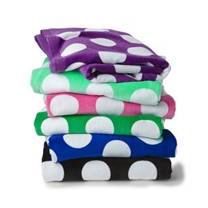 Carmel Towel Company Polka Dot Velour Beach Towel