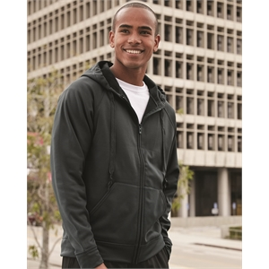 JERZEES Dri-Power® Sport Hooded Full-Zip Sweatshirt