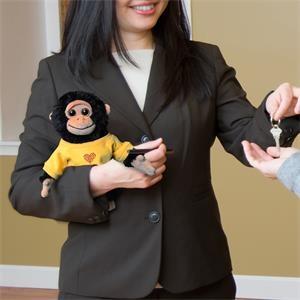 Chelsea™ Plush Primate Pals