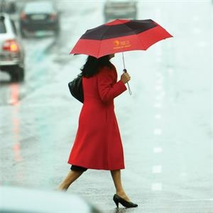 totes® Auto Open/Close Color Block Umbrella