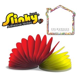 Slinky®Adhesive Notes - House - 50 Sheets
