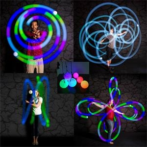 LED Thrown Balls for Professional