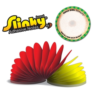 Slinky®Adhesive Notes - Round - 100 Sheets