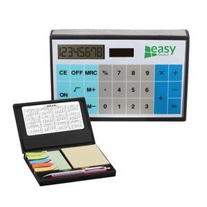 Solar Calculator W/ Sticky Notes