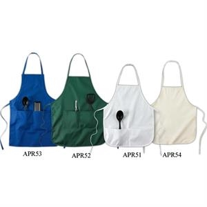 """Big Accessories 24\"""" Apron Without Pockets"""
