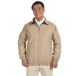 Harriton Adult Microfiber Club Jacket
