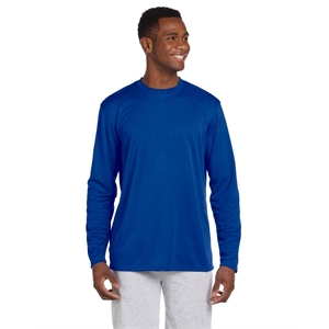 Harriton Adult 4.2 oz. Athletic Sport Long-Sleeve T-Shirt