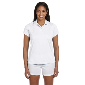 Harriton Ladies' 4 oz. Polytech Polo