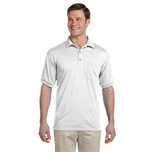 Gildan® Adult 6 oz., 50/50 Jersey Polo with Pocket