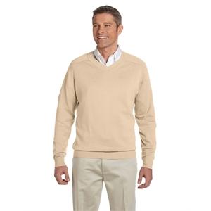 Devon & Jones® Men's V-Neck Sweater