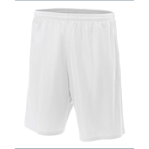 A4 (R) Adult Nine Inch Inseam Mesh Short