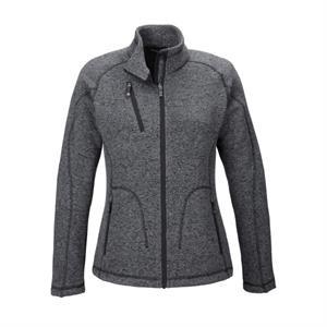 Ash City - North End Sport Red Ladies' Peak Sweater Fleec...