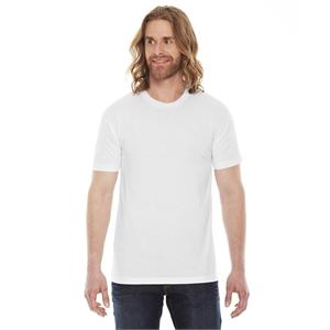 American Apparel® Unisex Poly-Cotton USA Made Crewneck...