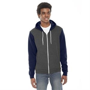 American Apparel® Unisex Flex Fleece USA Made Zip Hoodie