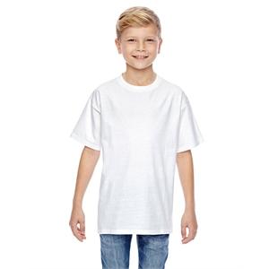 Hanes® Youth 4.5 oz., 100% Ringspun Cotton nano-T®T...