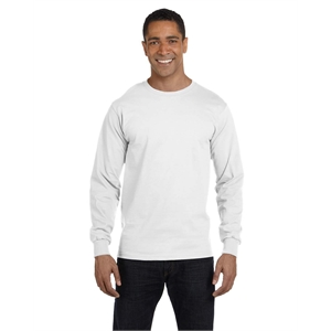 Hanes® Men's 5.2 oz. ComfortSoft®Cotton Long-Sleeve...