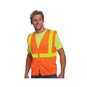 Bayside (R) Mesh Safety Vest - Orange