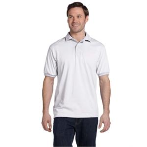 Hanes® Adult 5.2 oz., 50/50 EcoSmart®Jersey Knit Polo