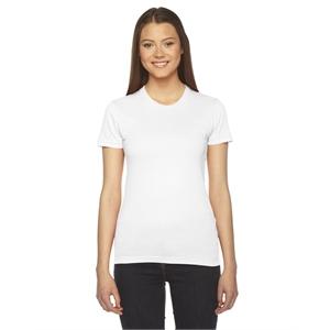 American Apparel® Ladies' Fine Jersey USA Made Short-S...