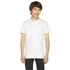 American Apparel® Youth Fine Jersey USA Made Short-Sle...