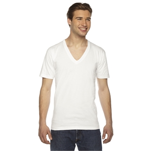 American Apparel® Unisex USA Made Fine Jersey Short-Sl...