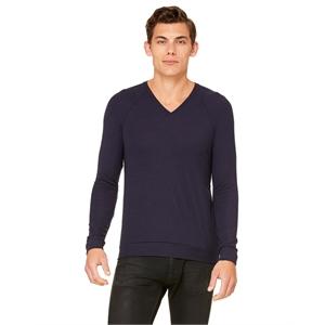 Bella + Canvas Unisex V-Neck Lightweight Sweater