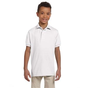 Jerzees® Youth 5.6 oz. SpotShield™Jersey Polo