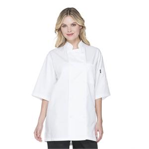 Unisex Short Sleeve Chef Coat