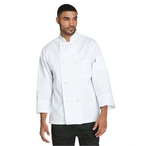 Unisex Classic 8 Button Chef Coat
