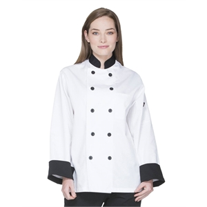 Unisex Classic 10 Button Chef Coat