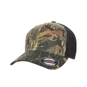 Flexfit® Adult Mossy Oak Stretch Mesh Cap