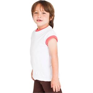 American Apparel® Toddler Organic Fine Jersey Short-Sl...