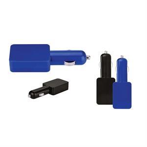 Duo Flat USB Car Adapter