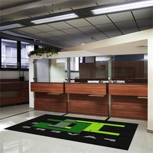 7 X 20 Custom Indoor & Outdoor Logo Carpet Mat