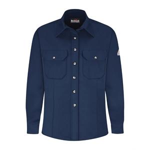Bulwark Women's Dress Uniform Shirt - EXCEL FR® ComforTouch