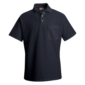 Blended Soft Knit Shirt With a Pocket