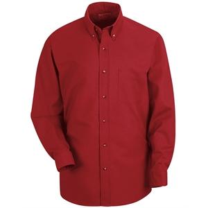 Red Kap Poplin Long Sleeve Dress Shirt