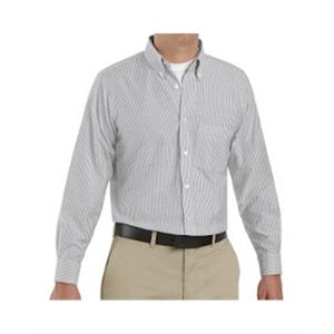 Red Kap Executive Oxford Long Sleeve Dress Shirt - Additi...