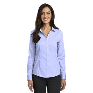 Red House Ladies Pinpoint Oxford Non-Iron Shirt.