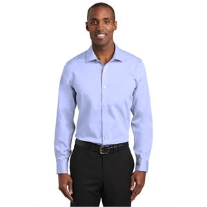 Red House Slim Fit Pinpoint Oxford Non-Iron Shirt.