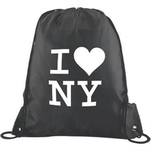 Polyester Drawstring Backpack While Supplies Last