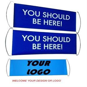 Custom Scroll Banner Sign Flags