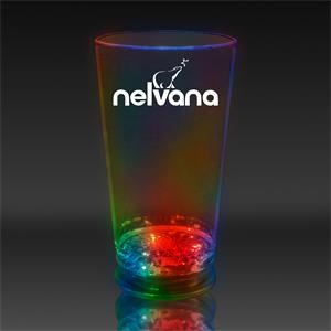 Red Green & Blue 16 oz. Light Up LED Pint Glass