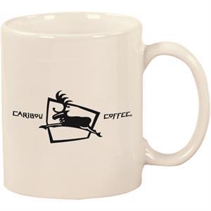 11 oz Windstone Ceramic Mug/White