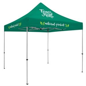 Deluxe 10' Tent Kit (Full-Color Imprint, 3 Locations)