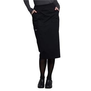 "Cherokee Workwear Professionals 30"" Knit Waistband Skirt"